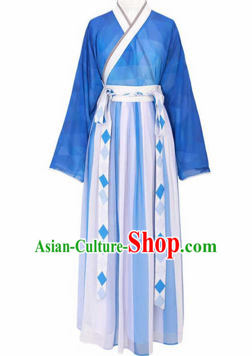 Chinese Jin Dynasty Princess Costumes Ancient Nobility Lady Hanfu Dress for Women