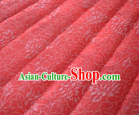 Asian Chinese Traditional Pattern Design Pink Brocade Fabric Silk Fabric Chinese Fabric Material