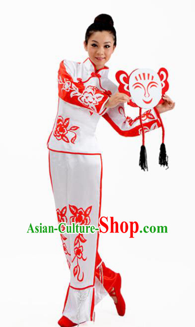 Chinese Traditional Folk Dance Costumes Yangko Dance Clothing for Women