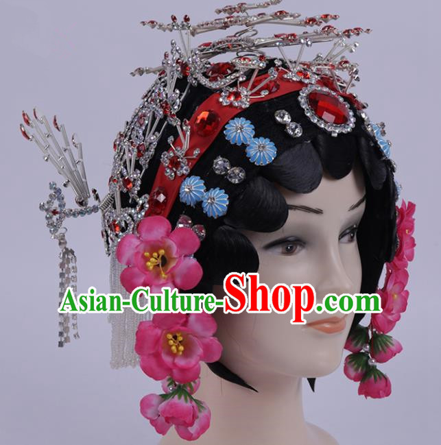 Chinese Traditional Peking Opera Diva Hair Accessories Ancient Hairpins for Women