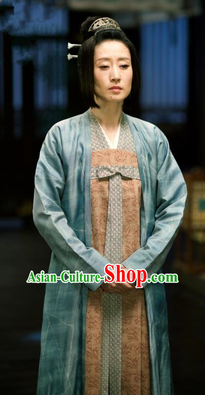 Chinese Ancient Nobility Lady Costumes The Rise of Phoenixes Swordswoman Hanfu Dress for Women xxxxxl