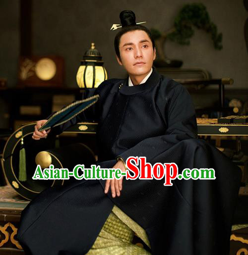 Chinese Traditional Ancient Nobility Childe Costumes The Rise of Phoenixes Tang Dynasty Prince Clothing for Men xxxxxl