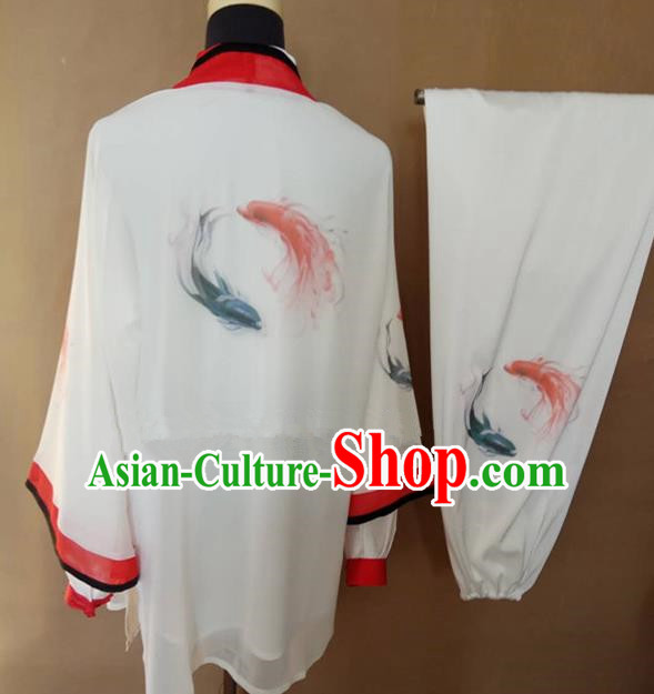 Chinese Traditional Martial Arts Costumes Tai Ji Kung Fu Training Clothing