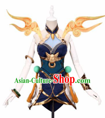 Top Grade Cosplay Swordswoman Costumes Halloween Cartoon Characters Clothing for Women