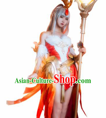 Top Grade Chinese Cosplay Princess Costumes Halloween Cartoon Characters Dress for Women