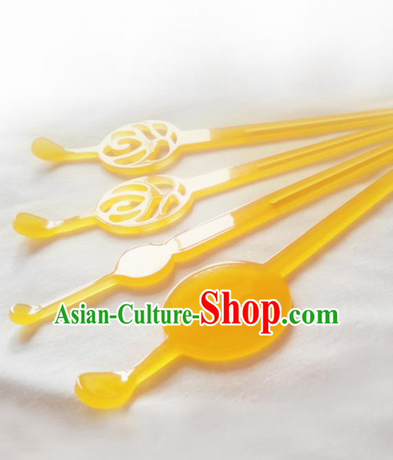 Japanese Traditional Courtesan Hair Accessories Hair Clips Ancient Kimono Hairpins for Women