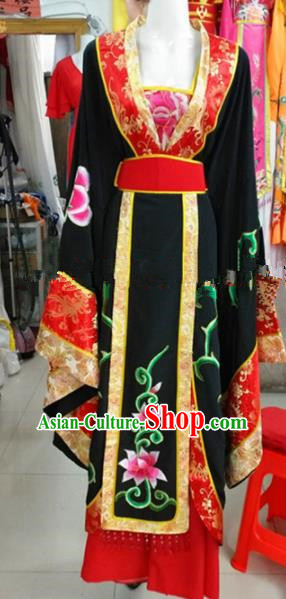 Chinese Traditional Peking Opera Queen Embroidered Dress Ancient Empress Costumes for Women