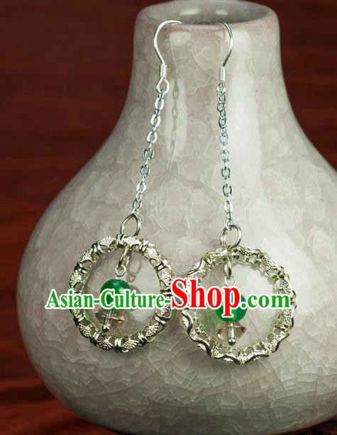 Chinese Traditional Jewelry Accessories Ancient Hanfu Earrings for Women
