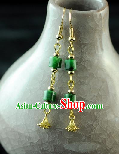 Chinese Traditional Jewelry Accessories Ancient Hanfu Tassel Earrings for Women