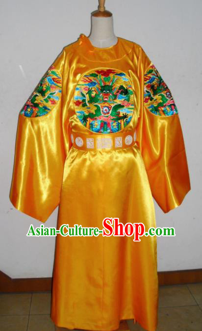 Chinese Traditional Ming Dynasty King Embroidered Costume Ancient Emperor Imperial Robe for Men