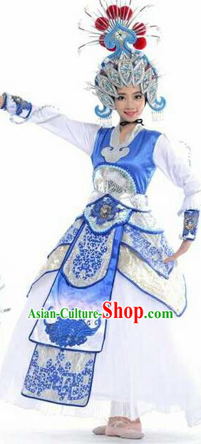 Chinese Traditional Classical Dance Costume Beijing Opera Dance Dress for Women