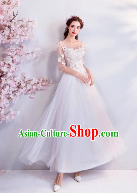 Handmade Princess Butterfly Wedding Dress Top Grade Fancy Wedding Gown for Women