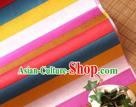 Asian Traditional Korean Fashion Hanbok Brocade Fabric Silk Fabric Material