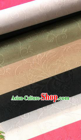 Asian Traditional Fabric Korean Colorful Brocade Fabric Hanbok Classical Pattern Silk Material