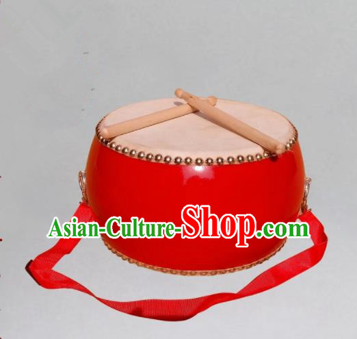 Chinese Traditional Drums Folk Dance Tupan Dragon Cowhide Drum