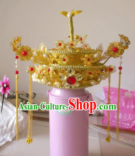 Chinese Classical Wedding Hair Accessories Traditional Ancient Bride Phoenix Coronet for Women