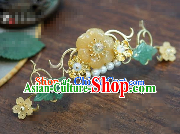 Chinese Ancient Bride Hair Accessories Wedding Pearls Hairpins for Women