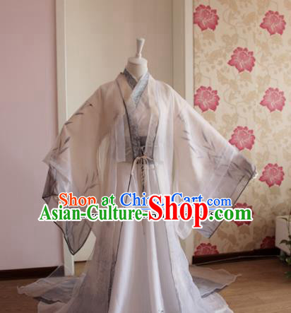 Chinese Traditional Cosplay Prince Costumes Ancient Swordsman Clothing for Men