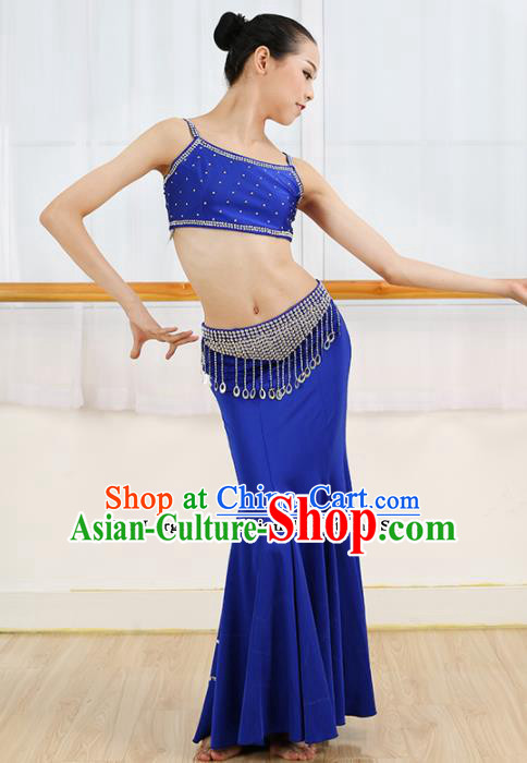 Chinese Ethnic Minority Pavane Dress Traditional Dai Nationality Folk Dance Costume for Women