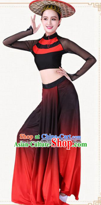 Chinese Traditional Dai Nationality Dress Ethnic Peacock Dance Folk Dance Costumes for Women