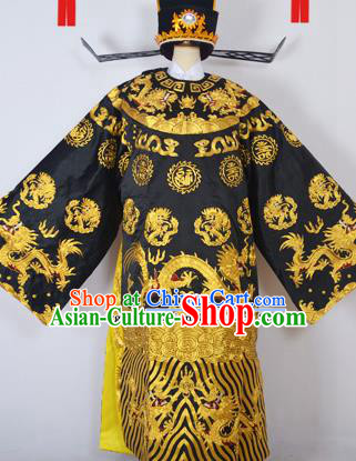 Professional Chinese Peking Opera Bao Zheng Costumes Ancient Prime Minister Clothing for Adults