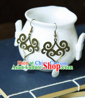 Traditional Chinese Ancient Hanfu Jewelry Accessories Earrings for Women