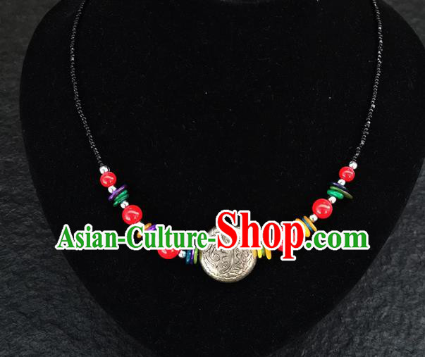 Chinese Traditional Jewelry Accessories Yunnan Minority Necklace for Women