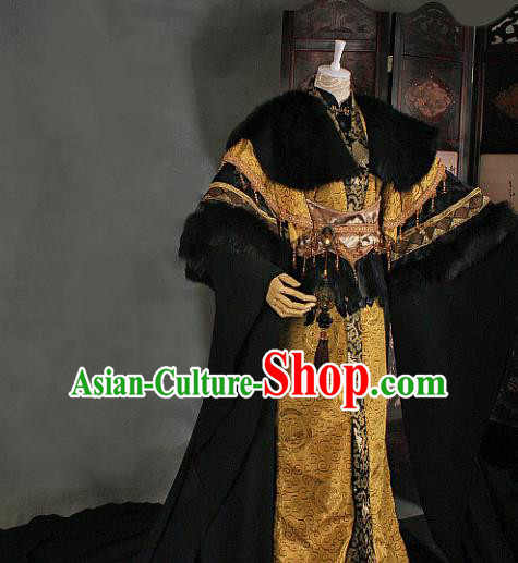 Chinese Traditional Ancient Swordsman Royal Highness Costumes for Men