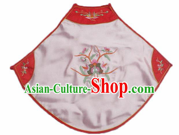 Chinese Traditional Underwear Ancient Costume Embroidered Pink Bellyband for Women