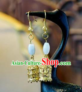 Asian Chinese Traditional Handmade Jewelry Accessories Eardrop Bride Earrings for Women