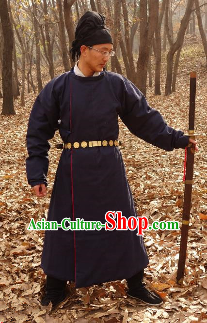 Ancient China Tang Dynasty Swordsman Imperial Bodyguard Costumes for Men