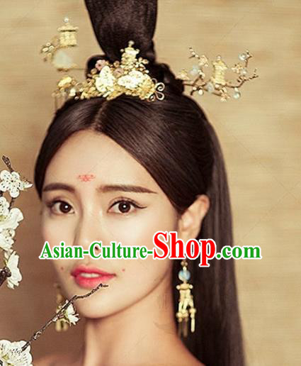 Chinese Handmade Classical Hairpins Ancient Hanfu Headdress Hair Accessories for Women