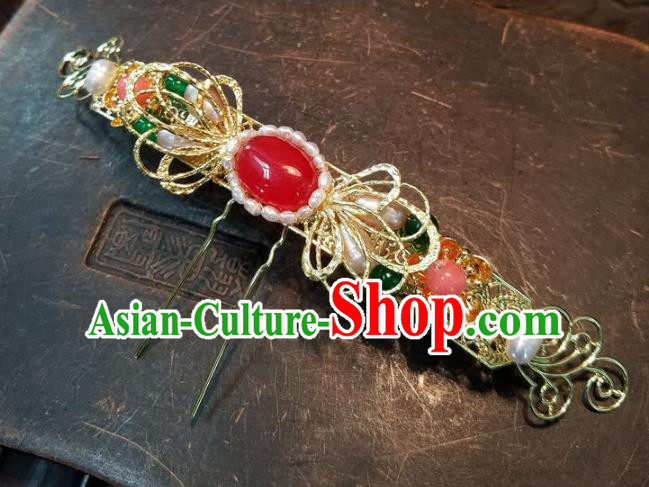 Chinese Handmade Classical Hairpins Ancient Hanfu Hair Stick Headdress Hair Accessories for Women