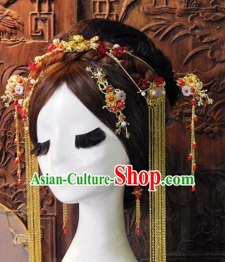 Chinese Handmade Classical Hairpins Ancient Hanfu Hair Clasp Hair Accessories for Women