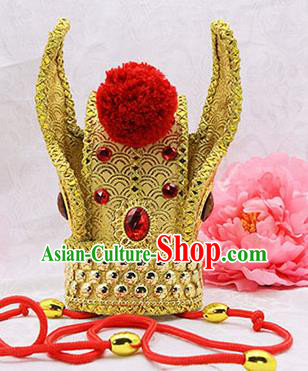 Handmade Chinese Ancient Prince Hair Accessories Hairdo Crown for Men