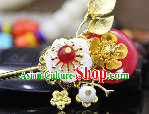 Handmade Chinese Ancient Palace Lady Hair Accessories Hanfu Hair Clip Hairpins for Women