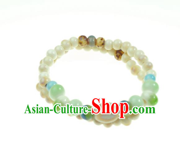 Traditional Chinese Bracelet Accessories Ceramics Bangle for Women