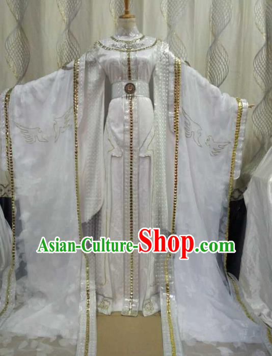 China Ancient Cosplay Palace Lady Costume Fairy Princess Fancy Dress Traditional Hanfu Clothing for Women