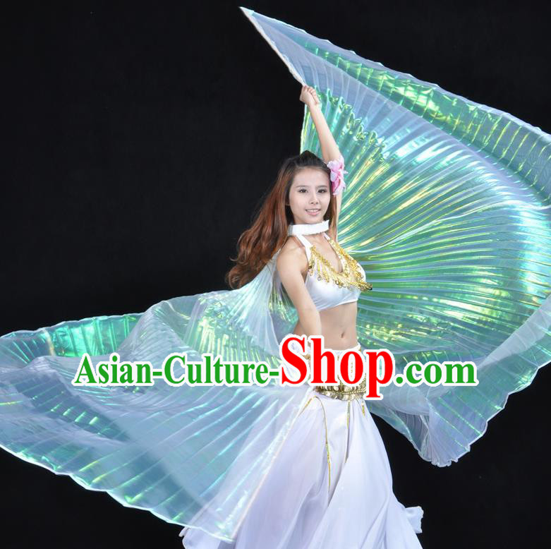 Asian Indian Belly Dance Prop Wings India National Stage Performance Large Wing for Women