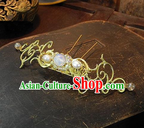 Chinese Handmade Classical Hair Accessories Ancient Wedding Hanfu Hairpins for Women