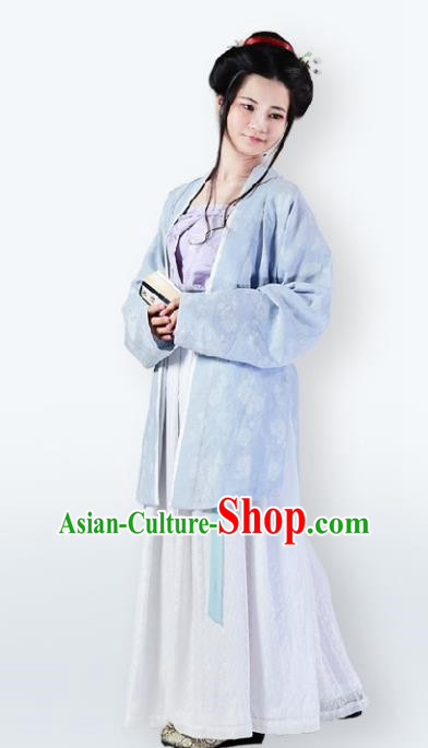 Traditional Chinese Song Dynasty Nobility Lady Costume Complete Set for Women