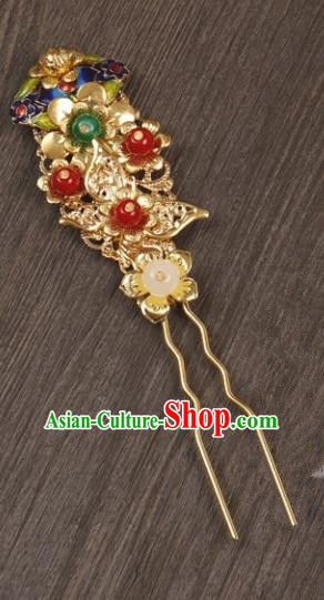 Chinese Handmade Classical Hair Accessories Beads Hair Stick Hairpins for Women