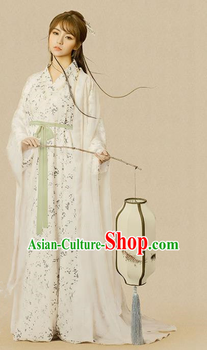 Chinese Traditional Tang Dynasty Nobility Lady Costume, Ancient Palace Princess Embroidered Clothing for Women