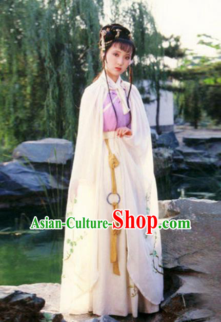 Traditional Chinese Ming Dynasty Nobility Lady Costume, China Ancient Princess Embroidered Clothing