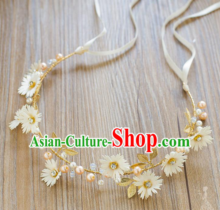 Handmade Classical Wedding Hair Accessories Bride Hair Clasp Headband Headwear for Women