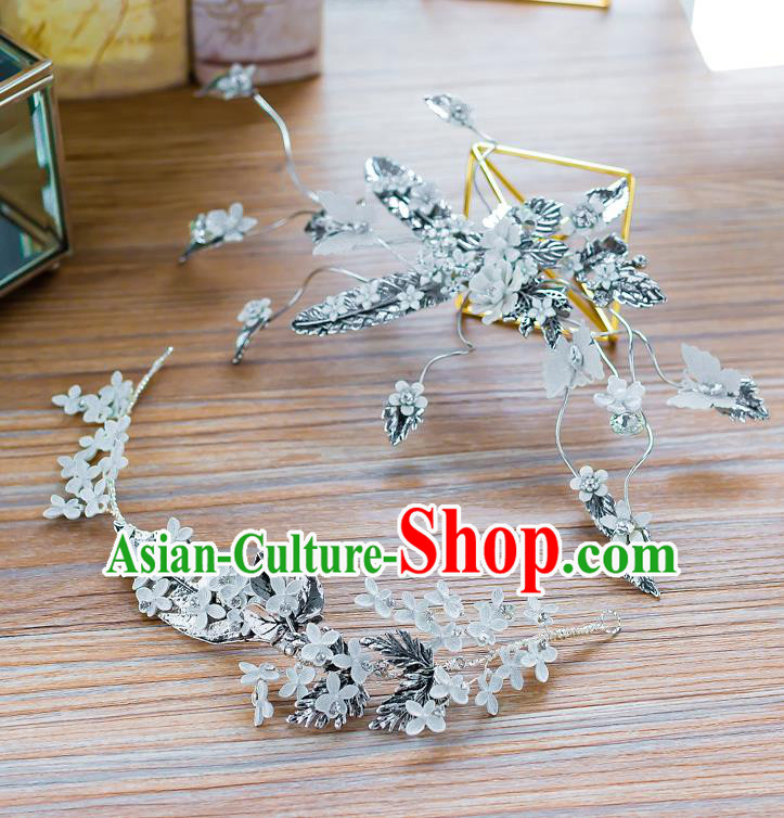 Handmade Classical Wedding Hair Accessories Bride Hair Stick Headwear for Women
