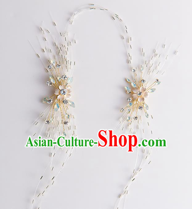 Handmade Classical Wedding Hair Accessories Bride Headband Hair Clasp for Women