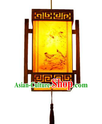 Traditional Chinese Palace Lanterns Handmade Painted Hanging Lantern Ancient Ceiling Lamp
