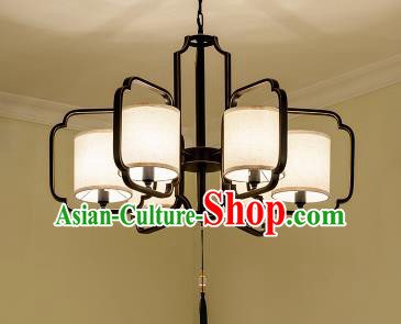 Traditional Chinese Ceiling Palace Lanterns Handmade Six-Lights Lantern Ancient Lamp