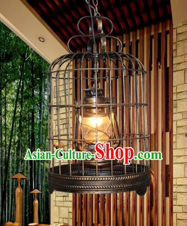 Traditional Chinese Ceiling Palace Lanterns Handmade Hanging Lantern Ancient Kerosene Lamp